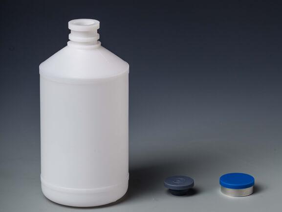 500 мл белая бутылка с вакциной B38