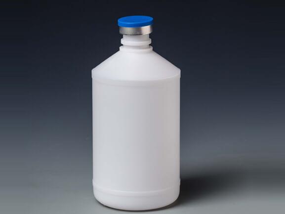 500 мл белая бутылка с вакциной