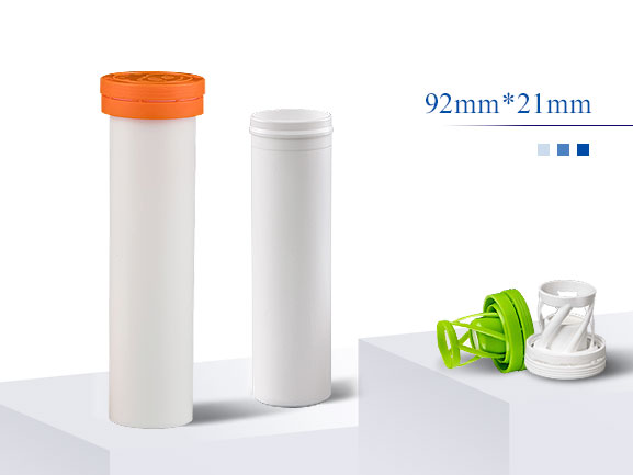 пластиковая трубка для шипучей таблетки